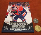 Taylor Hall Rookie Cards and Autographed Memorabilia Guide 9