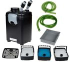 3 Stage External Fish Canister Filter Power Pump For Aquarium Pond Tank
