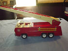 VINTAGE TOY  1960-70S LARGE METAL TONKA  FIRE DEPT ENGINE LADDER TRUCK