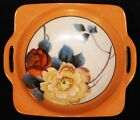 Noritake Bowl Hand Painted Floral Vintage Decorative Roses Flowers Japan