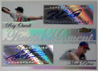 2007 Rookie Finest Moments ROY OSWALT MARK PRIOR Dual Auto Refractor Rare SP 25