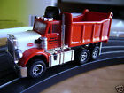 New SOLD OUT Autoworld Xtraction Red Dump Truck HO Slot Car Fits Aurora AFX