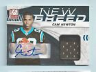 CAM NEWTON 2011 DONRUSS ELITE NEW BREED RC JERSEY AUTOGRAPH AUTO 25 PANTHERS