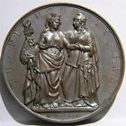 Belgium-POLAND 1831 Polish Revolution against Russia bronze medal Rare toned UNC