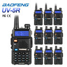10x Baofeng UV-5R V/UHF 136-174/400-520MHz CTCSS Dual-Dand FM Ham Two-way Radio