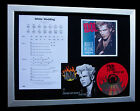 BILLY IDOL White Wedding TOP QUALITY CD FRAMED DISPLAY+EXPRESS GLOBAL SHIPPING