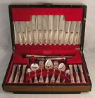 KINGS Design S HART & CO SHEFFIELD Silver Service 59 Piece Canteen of Cutlery