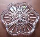 Waterford Lismore Serving Dish 3 Part Crystal New in Box