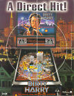 1995 WILLIAMS DIRTY HARRY PINBALL FLYER MINT