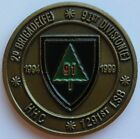 2nd Brigade, 91st Division USAR 1994-1999 Powder River Wild West Challenge Coin