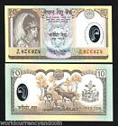 NEPAL 10 RUPEES P45 2002 POLYMER COMMEMORATIVE UNC DEER CURRENCY MONEY BILL NOTE