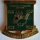 Odd Shaped 720th Military Police Battalion Fort Hood, TX US Army Challenge Coin