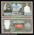 NEPAL 25 RUPEES P41 1997 KING COW COMMEMORATIVE UNC CURRENCY MONEY BILL BANKNOTE