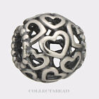 Authentic Pandora Sterling Silver Open Your Heart Bead