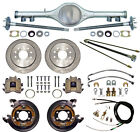 CURRIE 70 1 2 81 GM F BODY REAR END  DISC BRAKESLINESPARKING CABLESAXLESETC