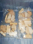 1x BAG BUSHES ERZGEBIRGE VINTAGE GERMAN WOODEN MINIATURE TOY