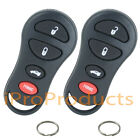 Pair of New Keyless Entry Remote Fobs Clicker + Key Rings for GQ43VT17T by iPro