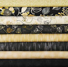 Going...MODERN NOIR by Red Rooster~8 Fat Quarter Bundle~Modern Design