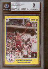 1986 Star Best of the Old Julius Erving BGS 9 w 9.5 Rare