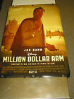 MILLION DOLLAR ARM ORIG. U.S. ONE SHEET MOVIE POSTER (JON HAMM)DS