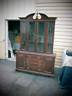 54325  AMERICAN DREW CHERRY CHINA CURIO CABINET