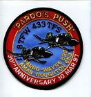 8th TFW 433rd TFS PARDO'S PUSH 30th ANNIV 1967 USAF F-4 PHANTOM SQUADRON PATCH