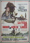 RK85 THE PRIVATE LIFE OF SHERLOCK HOLMES BILLY WILDER orig 1sh POSTER SPAIN