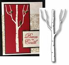 Tree Die Cut TALL BIRCH by Memory Box for All Die Cutting Machines