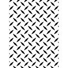 Darice Embossing Folder DIAMOND PLATE A2 works with Cuttlebug