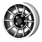 American Racing Hot Rod Vector 15 x 85 5 x 1143 45 6 Black 1 Wheel Rim