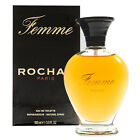 Femme by Rochas 3.3 / 3.4 oz Eau De Toilette Spray for Women New In Box