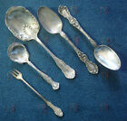 set of 5 antique serving pieces silverplate R Wallace Benedict Mfg 1947 Rogers