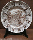 1970 Alfred Meakin Staffordshire Calander Zodiac Plate God Bless Our House 9