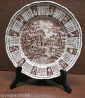 1973 Alfred Meakin Staffordshire Calander Zodiac Plate God Bless Our House 9