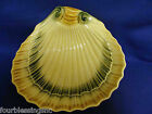 VINTAGE CERAMIC SHELL SHAPED DISH/PLATE/TRAY/BOWL MADE IN ITALY #7165-HANDPAINT