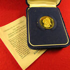 Beautiful Franklin Mint 1975 One Hundred Balboa Gold Coin- 8.16 grams; 90% Gold