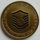 USAF US Air Force Master Sergeant Promotion MSGT Challenge Coin