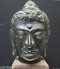 BUDDHA--BRONZE--HEAD ONLY--AGE UNKNOWN--8.5