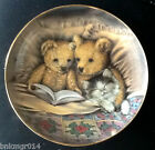 Franklin Mint Heirloom Plate Bedtime Story Sue Willis