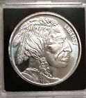 1oz .999 Silver Indian Head/ Buffalo Fine Silver Round - See Pics
