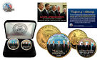 LIVING PRESIDENTS (Obama -Bush -Carter-Clinton.24KT Gold Legal Tender 2 Coin Set