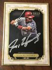 2014 Topps Museum Collection Ivan Rodriguez Auto Framed #d 15