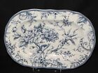 New 222 Fifth Adelaide B Blue Bird Fine Porcelain 10