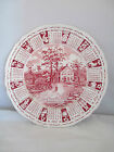 1971 Alfred Meak Staffordshire Calendar Zodiac Plate God Bless Our House 9