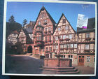 jigsaw puzzle WHITMAN Miltenberg Germany tudor houses fountain 1000 pcs vintage