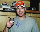 MARTIN BRODEUR signed NEW JERSEY DEVILS 11x14 PHOTO w COA