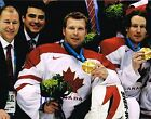 MARTIN BRODEUR signed TEAM CANADA 11x14 GOLD MEDAL PHOTO w COA