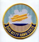 CV-63 CVA-63 USS KITTY HAWK NAVY AIRCRAFT CARRIER SHIP SQUADRON PATCH