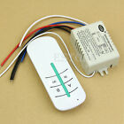 220V 2-Ways ON/OFF Wireless  Lamp Remote Control Switch Receiver Transmitter