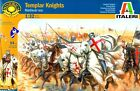 Plastic Toy Soldiers Medieval Era Templar Knights Set Italeri 1/32 Scale 6881